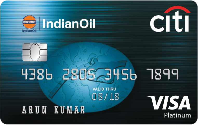 Indian Oil Citi Platinum Card