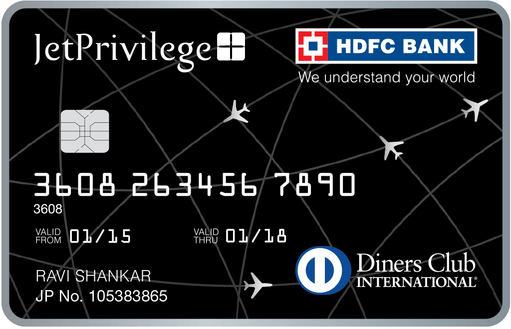 Jet Privilege HDFC Bank Diners Club